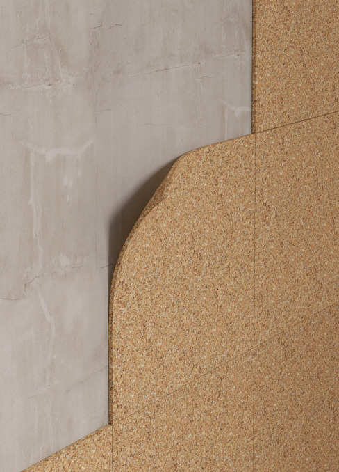 Insulation boards Modern walls & floors by Go4cork Modern Cork