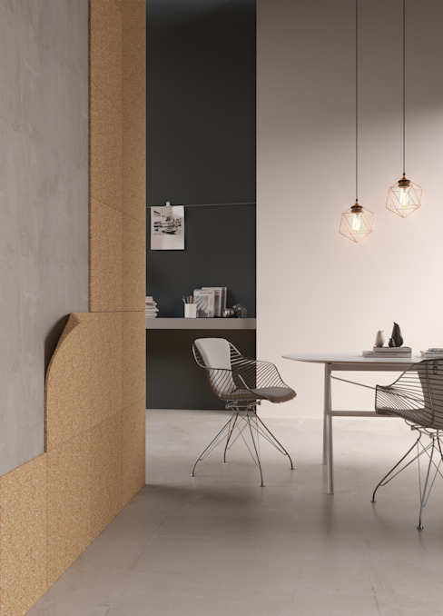 Sustainable building materials Modern walls & floors by Go4cork Modern Cork