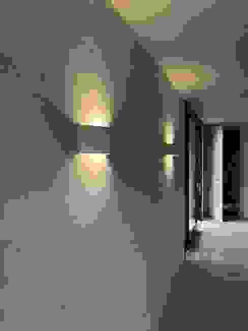 Innenwände Moderne Esszimmer von WoodCube GmbH Modern Holz Holznachbildung