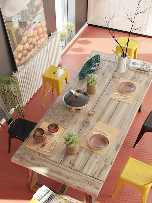 Küchenaccessoires Go4cork Küchenzeile Kork Holznachbildung
