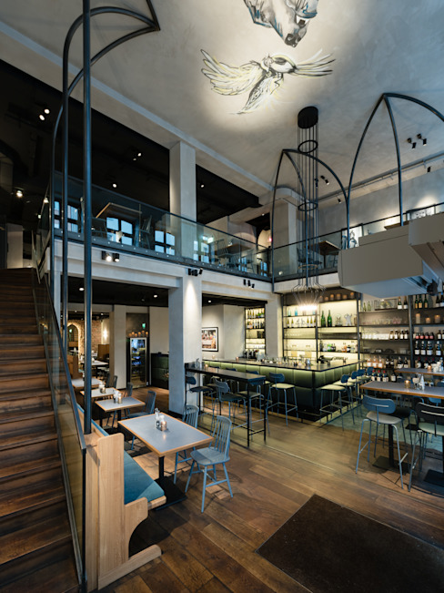 AW Architektur Eclectic style gastronomy