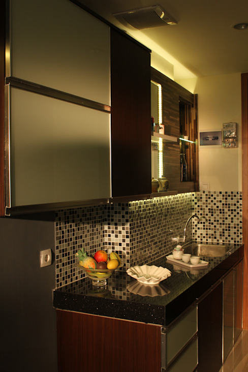 Beverly Honeycomb Tipe Studio Apartment: Dapur oleh POWL Studio,