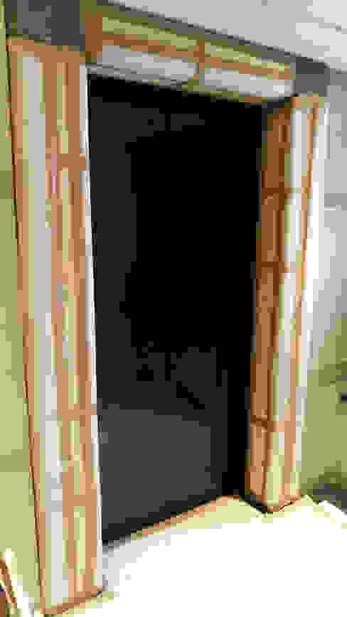 門框保護工程 by 大吉利室內裝修設計工程有限公司 Eclectic
