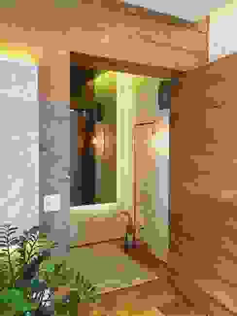 HALL DE ENTRADA: Salas de estar  por Mazorra Studio,Moderno