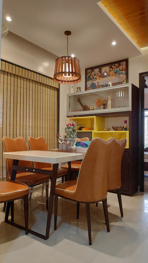 3BHK 1200 SQ.FT FLAT IN VASAI Classic style dining room by HARDIK PATIL ARCHITECTS Classic