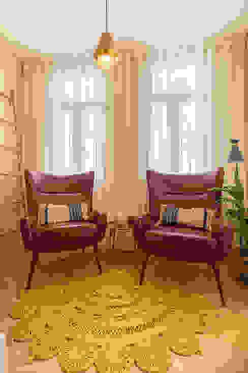 Receção - Projeto SHI Studio Interior Design, Matosinhos ShiStudio Interior Design Corredores, halls e escadas modernos