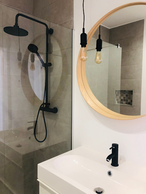 Casa de Banho ALMA Interiores Casas de banho modernas