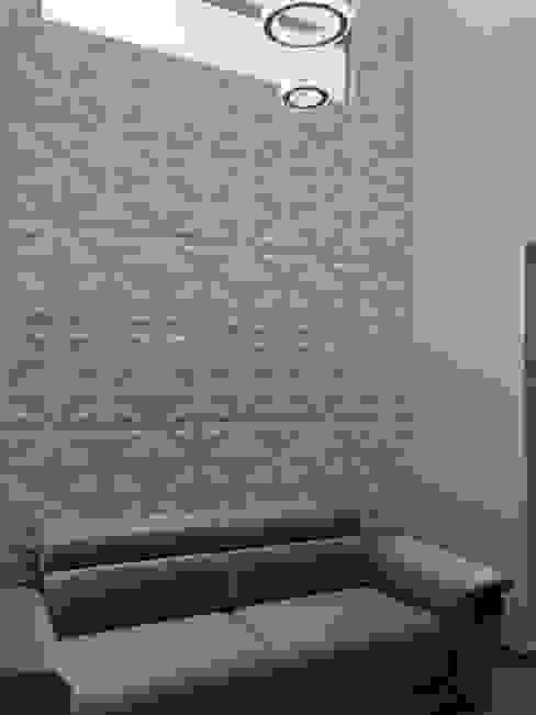 VIVIENDA MULTIFAMILIAR Salas modernas de SEQUOIA. Projects & Designs Moderno