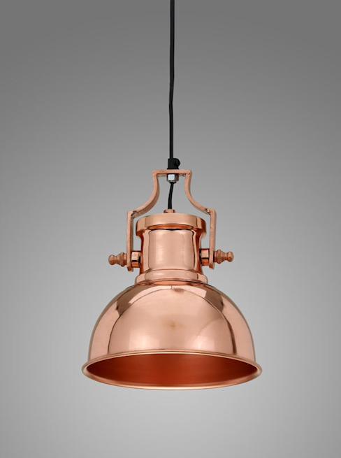 Industrial Pendant Lights: industrial  by Adhvik Decor, Industrial