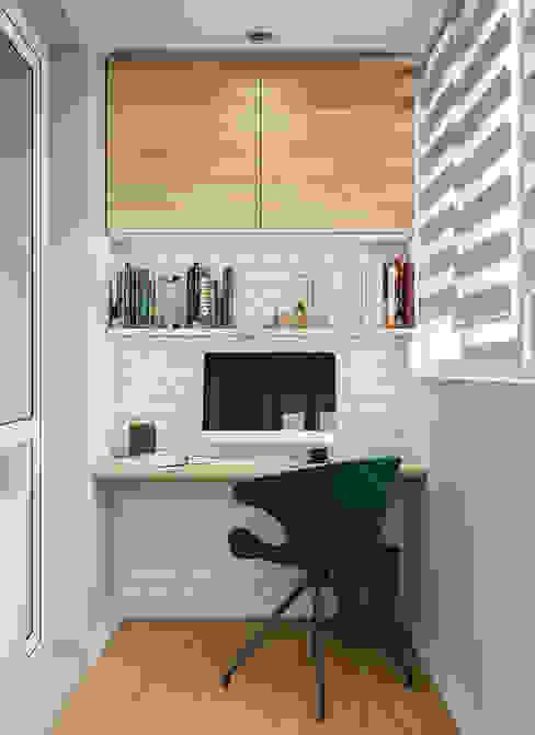 Дизайн - проект 1 комнатной квартиры 44 кв.м. в г. Москва от CUBE INTERIOR Минимализм