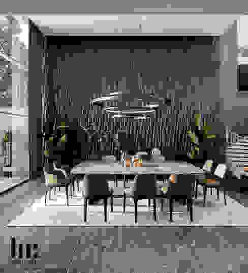 Salle à manger minimaliste par HC Arquitecto Minimaliste