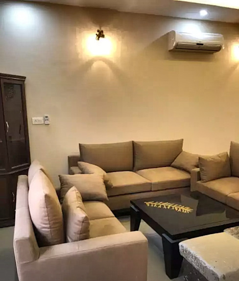 A Simple And Stunning Living Room Homagica Services Private Limited Living roomSofas & armchairs