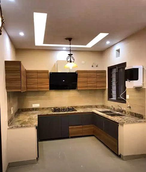 Kitchen Front View: asian  by Homagica Services Private Limited,Asian