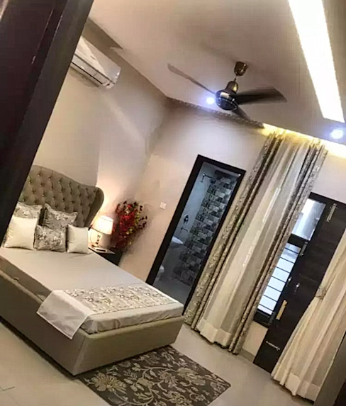 Master Bedroom Design Homagica Services Private Limited BedroomBeds & headboards