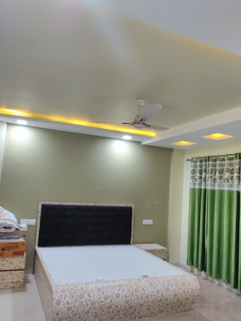 Master Bedroom Homagica Services Private Limited BedroomBeds & headboards