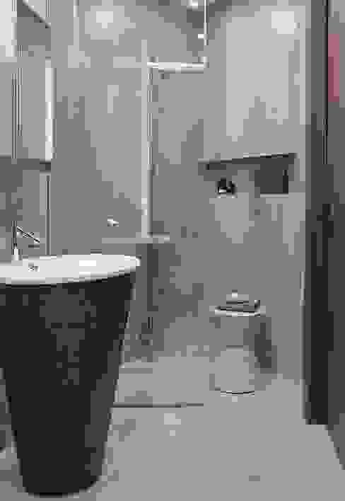 Baños de estilo minimalista de iPozdnyakov studio Minimalista Concreto