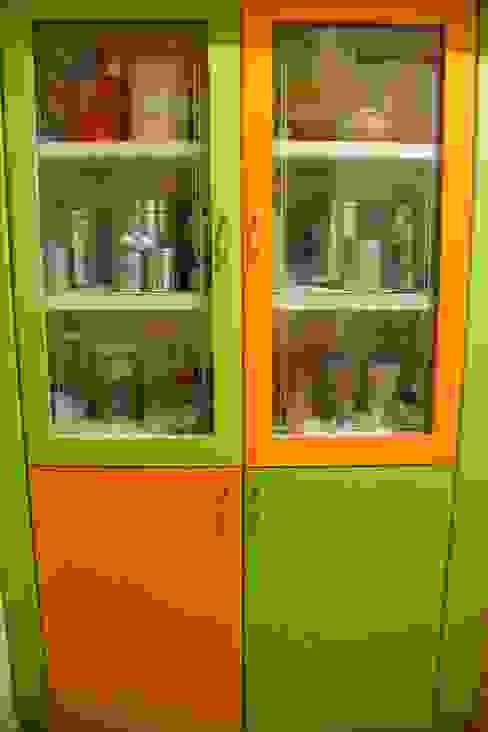 Kitchen cabinet: modern  by Ajith interiors,Modern Plywood