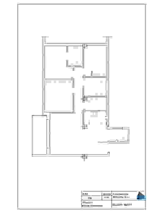 Plano después de la Reforma de Arquigestiona Reformas S.L. Minimalista