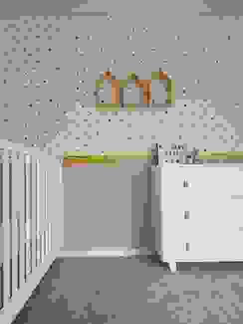 MIA arquitetos Stanza dei bambini minimalista