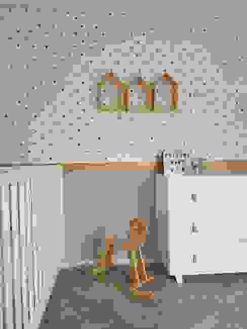Dormitorios infantiles minimalistas de MIA arquitetos Minimalista