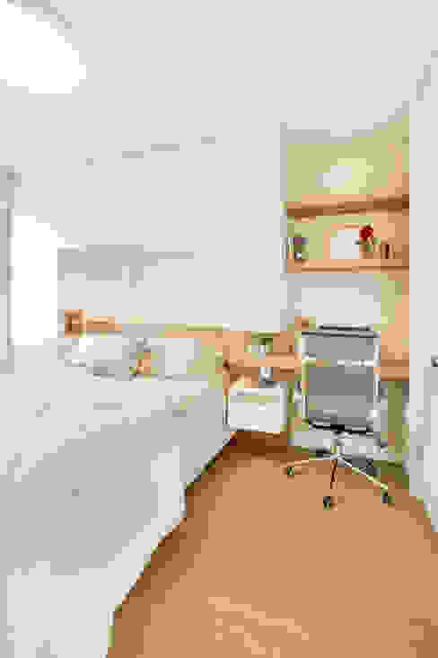 MOOD- Apartamento Interlagos Estúdio MOOD Quartos minimalistas