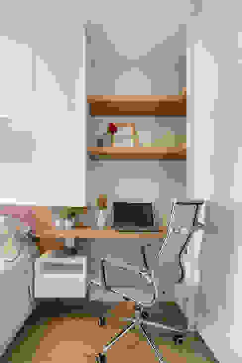MOOD- Apartamento Interlagos: Quartos  por Estudio MOOD,Minimalista