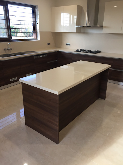 Island Kitchen Chennai by Hoop Pine by Hoop Pine Interior Concepts Modern Plywood