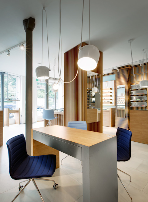 Alessandra Pisi / Pisi Design Architetti Offices & stores Wood Wood effect