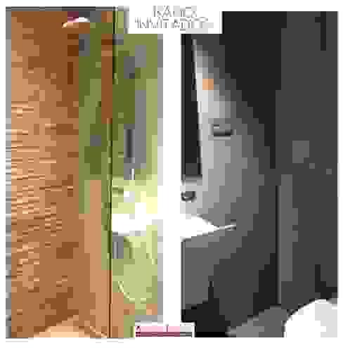 BAÑO DE INVITADOS: Baños de estilo  de Arquide Estudio, reforma y rehabilitación en Madrid, Moderno