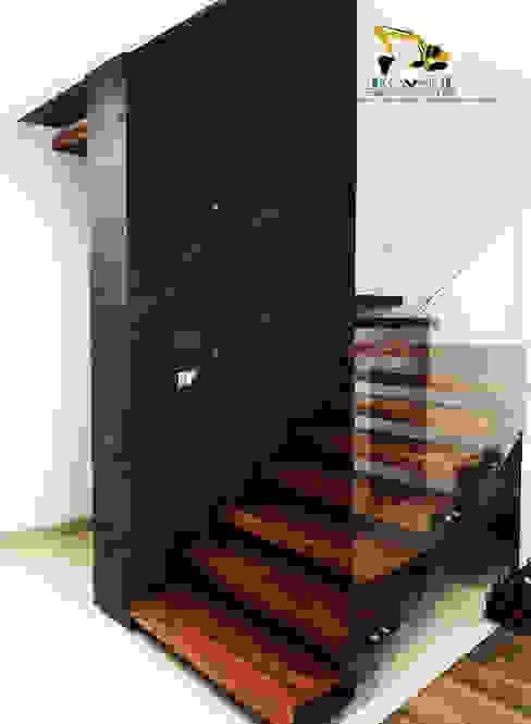 Cavos Arquitectos Stairs Solid Wood Wood effect