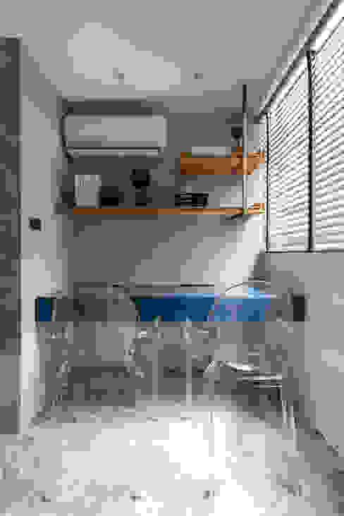 書房 根據 你你空間設計 現代風 塑木複合材料