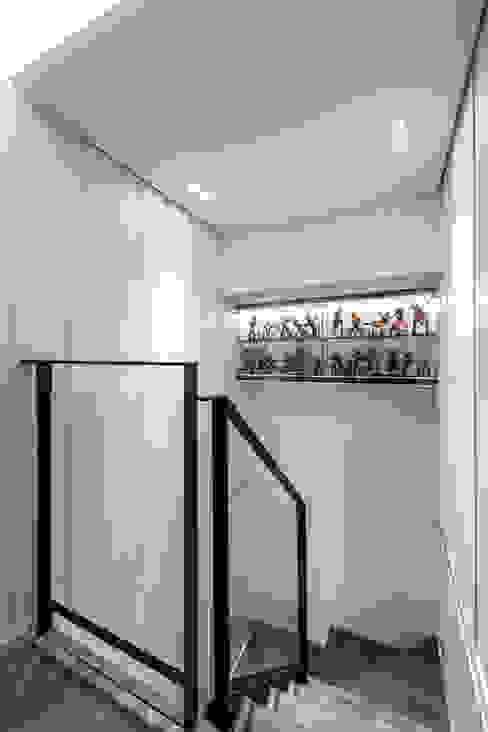 樓梯 根據 你你空間設計 現代風 鐵/鋼
