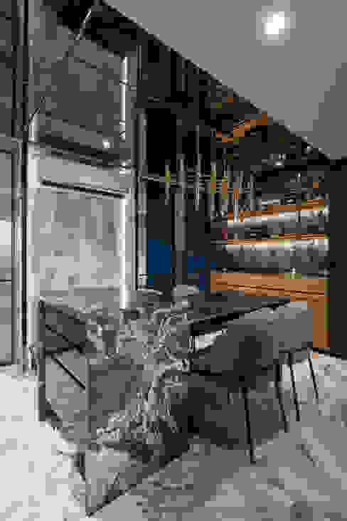 客餐廳 根據 你你空間設計 現代風 大理石