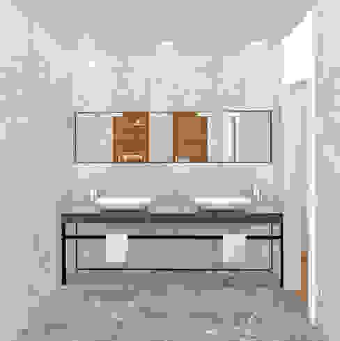 BAÑO Baños minimalistas de arQmonia estudio, Arquitectos de interior, Asturias Minimalista