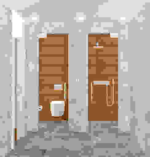 ZONAS INDEPENDIENTES Baños minimalistas de arQmonia estudio, Arquitectos de interior, Asturias Minimalista