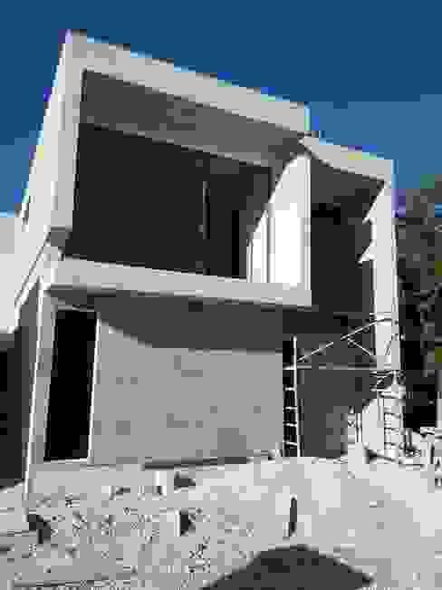 PROCESO DE CONSTRUCCIÓN de AMÁNDALA PERUSQUÍA Moderno Concreto