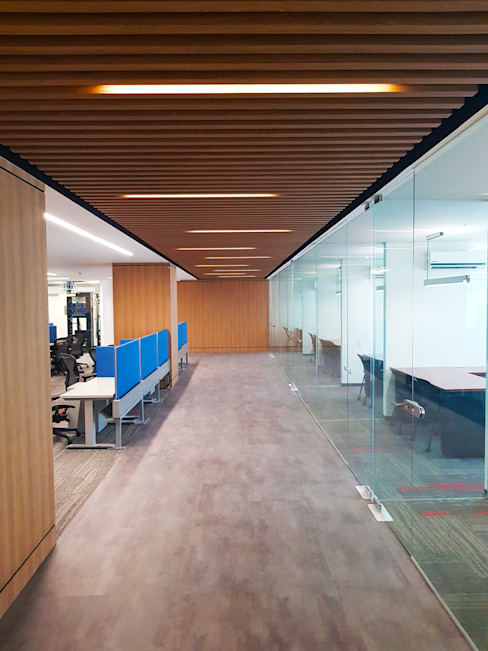 Taller de Arquitectura Bioclimatica Modern study/office