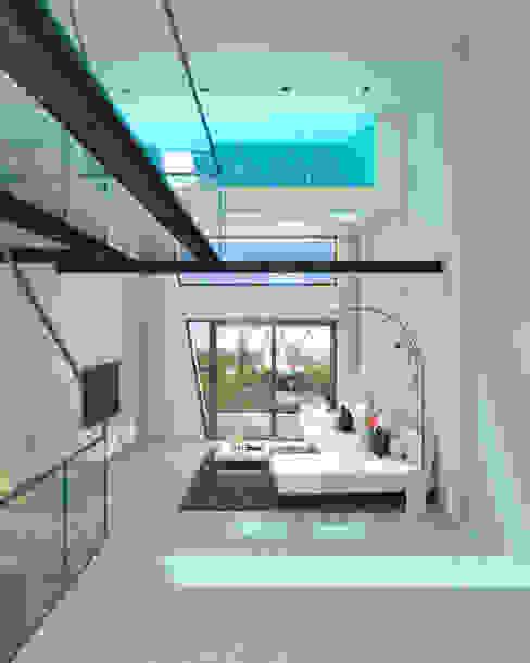 Interior salón - comedor. Valencia Salones de estilo moderno de Barreres del Mundo Architects. Arquitectos e interioristas en Valencia. Moderno