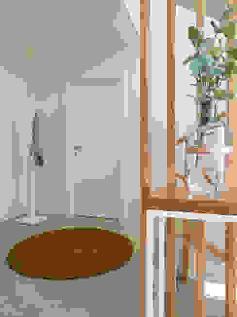 Hall MUDA Home Design Corredores, halls e escadas modernos