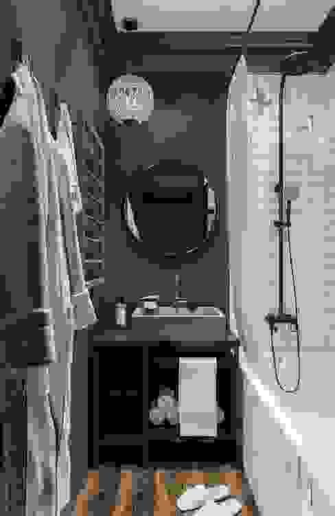 Beautiful illusion by IN MY BOX design studio Ванная комната в эклектичном стиле от IN MY BOX | дизайн интерьера | Екатеринбург Эклектичный