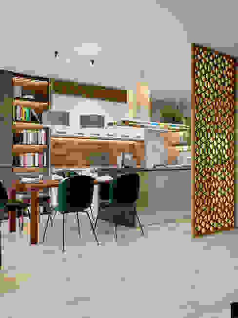 Salas de estilo industrial de Interior designers Pavel and Svetlana Alekseeva Industrial