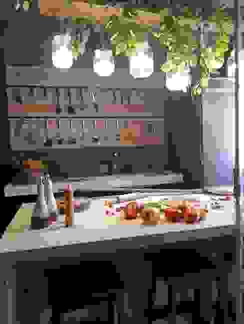 Cozinha Funcional Lojas & Imóveis comerciais industriais por Fark Arquitetura e Design Industrial Mármore