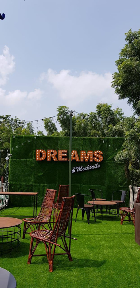 "Youths Happy Place ""DREAMS CAFE"" by Monoceros Interarch Solutions Asian Metal"