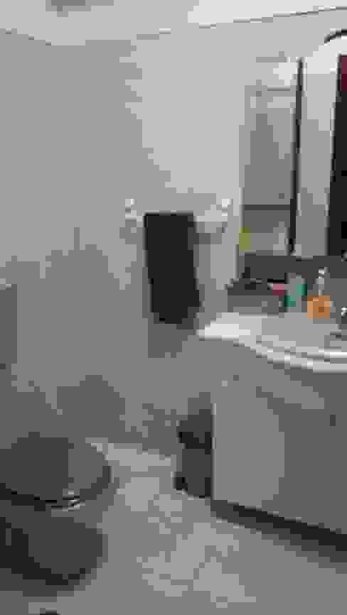 Antes - Remodelação de casa de banho por Rima Design