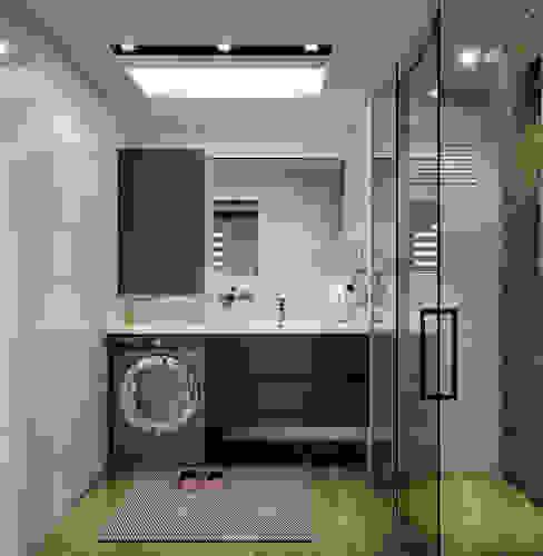 Çalık Konsept Mimarlık – Doğan İnşaat 2+1 örnek daire tasarımı: modern tarz , Modern