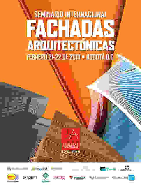 SEMINARIO INTERNACIONAL FACHADAS ARQUITECTÓNICAS de Sociedad Colombiana de Arquitectos Moderno