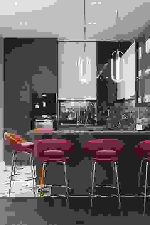 Cocinas de estilo moderno de AMD Design studio Moderno