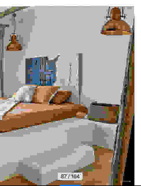 EGE EVİ vk design Yatak OdasıYataklar & Yatak Başları Ahşap Beyaz