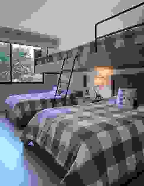 Concepto Taller de Arquitectura Dormitorios modernos Gris