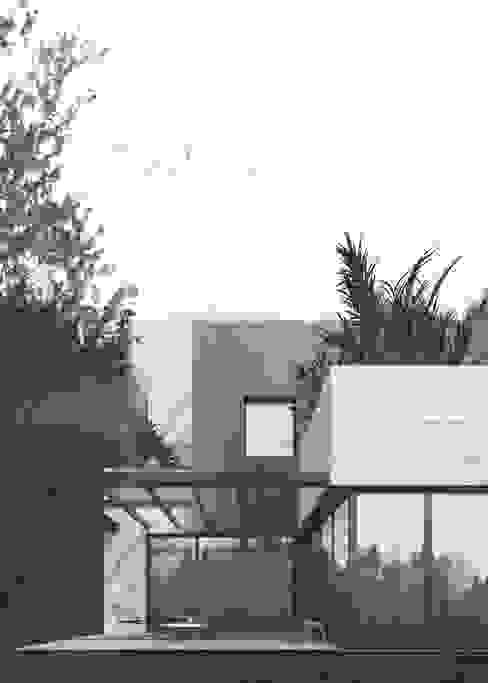 1705 - House T Casas de estilo moderno de HOA Architecture and Design Moderno